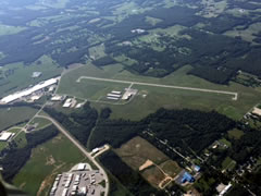 Aerial photo of KUUV (Sullivan Regional Airport)