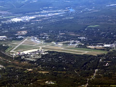 Aerial photo of KSCH (Schenectady County Airport)