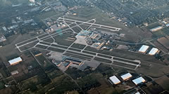 Aerial photo of KDAY (James M Cox Dayton International Airport)