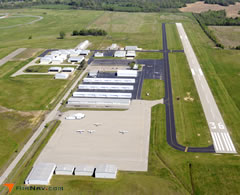 Aerial photo of 2M8 (Charles W. Baker Airport)