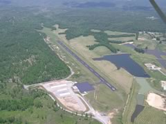 Aerial photo of 18I (Mc Creary County Airport)