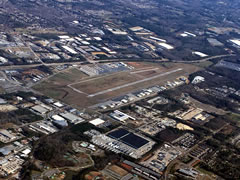 Aerial photo of KLZU (Gwinnett County Airport-Briscoe Field)