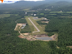 Aerial photo of 0B1 (Bethel Regional Airport)
