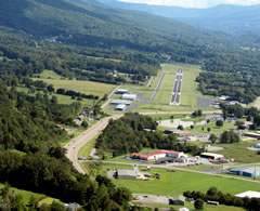 Aerial photo of 0A9 (Elizabethton Municipal Airport)