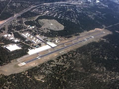 Aerial photo of KFLG (Flagstaff Pulliam Airport)