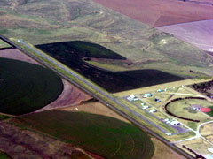 Aerial photo of 1F5 (Hoxie-Sheridan County Airport)