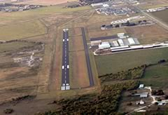 Aerial photo of 50R (Lockhart Municipal Airport)