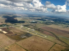 Aerial photo of T90 (Chambers County-Winnie Stowell Airport)