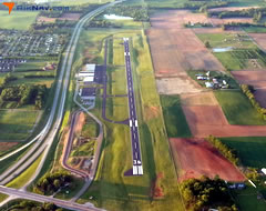 Aerial photo of KBGF (Winchester Municipal Airport)