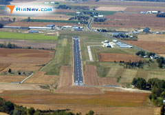 Aerial photo of KCQA (Lakefield Airport)