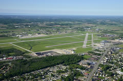Aerial photo of KIAG (Niagara Falls International Airport)