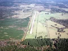 Aerial photo of 78R (San Augustine County Airport)