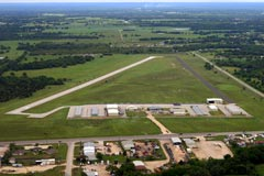 Aerial photo of KCFD (Coulter Field Airport)