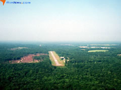 Aerial photo of 04A (Frank Sikes Airport)