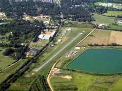 Aerial photo of 5A6 (Winona-Montgomery County Airport)