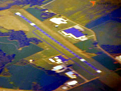 Aerial photo of KHZD (Carroll County Airport)
