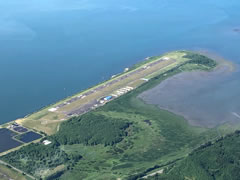 Aerial photo of KHQM (Bowerman Airport)