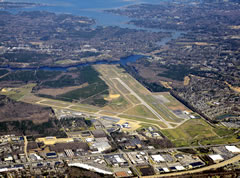 Aerial photo of KPHF (Newport News/Williamsburg International Airport)
