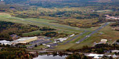 Aerial photo of KPBH (Price County Airport)