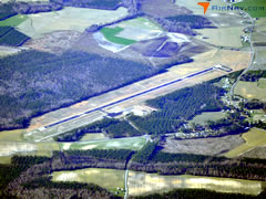 Aerial photo of KMCZ (Martin County Airport)