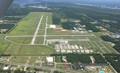 Aerial photo of KJKA (Jack Edwards NTL Airport)
