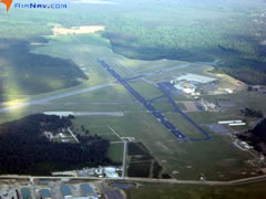 Aerial photo of KESF (Esler Regional Airport)