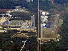 Aerial photo of 81B (Oxford County Regional Airport)