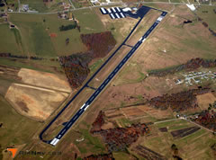Aerial photo of KRNC (Warren County Memorial Airport)