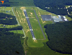 Aerial photo of KDYB (Summerville Airport)