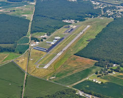 Aerial photo of KCBG (Cambridge Municipal Airport)