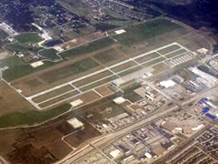 Aerial photo of KFWS (Fort Worth Spinks Airport)