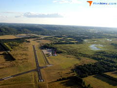 Aerial photo of KOVS (Boscobel Airport)