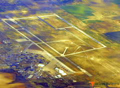 Aerial photo of KLTS (Altus Air Force Base)