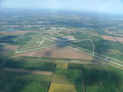 Aerial photo of KMBS (MBS International Airport)