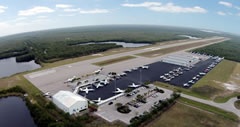 Aerial photo of KMKY (Marco Island Executive Airport)