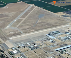 Aerial photo of KMIT (Shafter Airport-Minter Field)