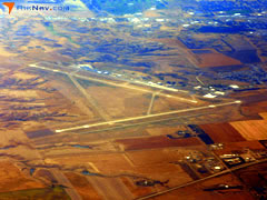 Aerial photo of KPIR (Pierre Regional Airport)