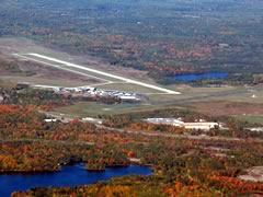 Aerial photo of KRHI (Rhinelander-Oneida County Airport)