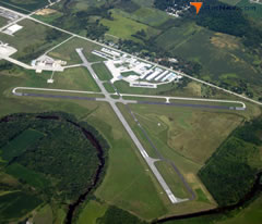 Aerial photo of KETB (West Bend Municipal Airport)