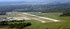 Aerial photo of KUMP (Indianapolis Metropolitan Airport)