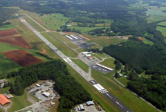 Aerial photo of KMMI (McMinn County Airport)