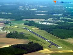 Aerial photo of KMAO (Marion County Airport)