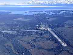 Aerial photo of PAYA (Yakutat Airport)