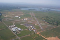 Aerial photo of KOVE (Oroville Municipal Airport)