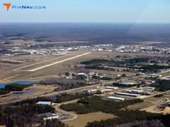 Aerial photo of KCAD (Wexford County Airport)