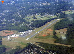 Aerial photo of KAKH (Gastonia Municipal Airport)