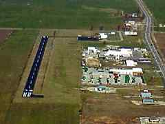 Aerial photo of KCHQ (Mississippi County Airport)