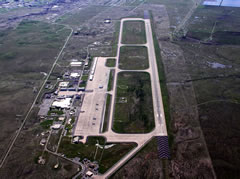 Aerial photo of KBAB (Beale Air Force Base)