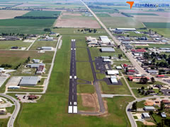 Aerial photo of M70 (Pocahontas Municipal Airport)