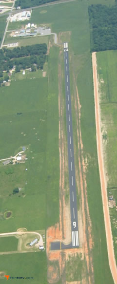 Aerial photo of 94K (Cassville Municipal Airport)